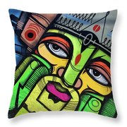 Leaning King Throw Pillow