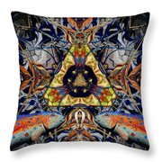 Leaping Fish Throw Pillow