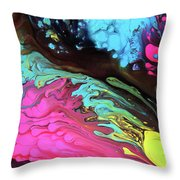 Leaps And Bounds Throw Pillow