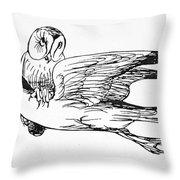 Lear: An Alphabet Throw Pillow