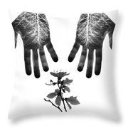 Learned Symmetry Throw Pillow