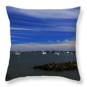 Learning To Breathe Again Throw Pillow