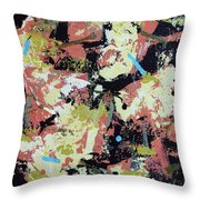 Leather Weather Throw Pillow