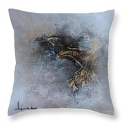 Leave Fear Throw Pillow