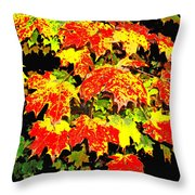 Leave Me Be Throw Pillow