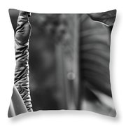 Leave Me Throw Pillow