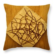 Leaves - Tile Throw Pillow