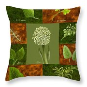 Leaves #2 Throw Pillow