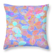 Leaves 20 Throw Pillow