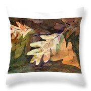Leaves 7 Throw Pillow