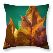 Leaves 971 Throw Pillow