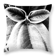 Leaves No. 36 Throw Pillow