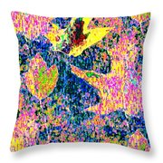 Leaves Of Flurry 1 Throw Pillow