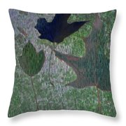 Leaves Of Flurry 3 Throw Pillow
