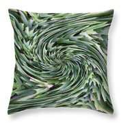 Leaves On Spin Cycle Throw Pillow