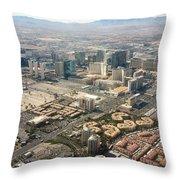 Leaving Las Vegas 3 Throw Pillow