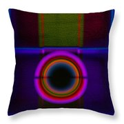 Leaving Lilac Throw Pillow