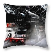 Leaving Never Is Easy Throw Pillow