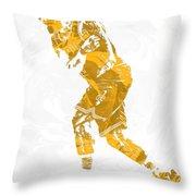 Lebron James Cleveland Cavaliers Pixel Art 13 Throw Pillow