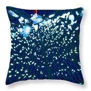 Led's Of Christmas Throw Pillow