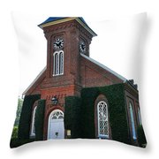 Lee Chapel Throw Pillow