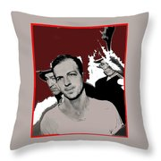 Lee Harvey Oswald Dallas Police Station Dallas Texas Unknown Photographer 1963-2016 Throw Pillow