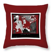 Lee Harvey Oswald Shot By Jack Ruby Photo Taken By  Dallas Times Herald Photographer Bob Jackson  Throw Pillow