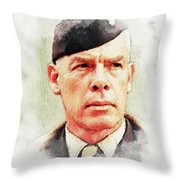 Lee Marvin Throw Pillow
