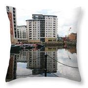 Leeds Doc Throw Pillow