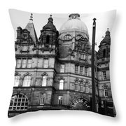 Leeds Market Throw Pillow