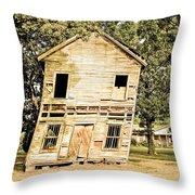 Leeeen-to Throw Pillow by Tom Zukauskas