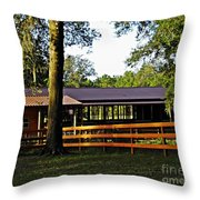 Lee's Ranch 5 Throw Pillow