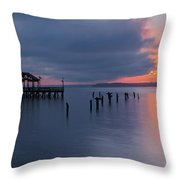Leesylvania Morning Throw Pillow