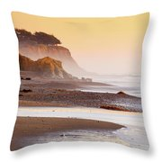 Leffingwell Landing Outcrop Throw Pillow