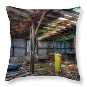 Left All Behind Throw Pillow