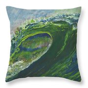 Left Of Ellicot Throw Pillow