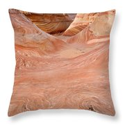 Left On The Wave Throw Pillow