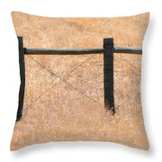 Left Out Throw Pillow