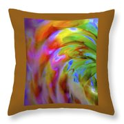 Left Side Faerie Wing Throw Pillow