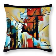 Left To Die Upon The Ground Throw Pillow