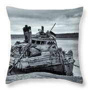 Left To Rot Throw Pillow