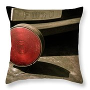 Left Turn Signal Throw Pillow