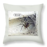 Leg Man Throw Pillow