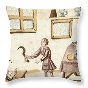 Leg Surgery, 1675 Throw Pillow
