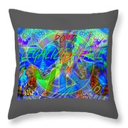 Legalize Peace Throw Pillow