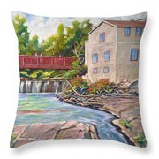 Legare Mill Throw Pillow