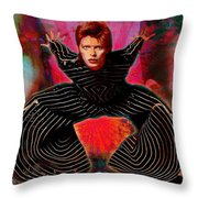 Legend Of Bowie  Throw Pillow