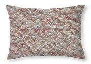 Legendary Pink Sand From Eleuthera Bahamas Throw Pillow