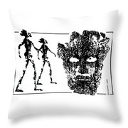 Legends  Of  Olden Times  Throw Pillow
