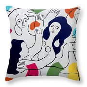 Leger Light And Loose Throw Pillow by Tara Hutton